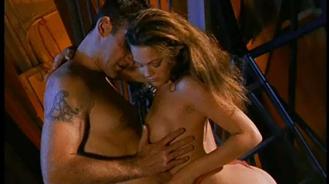 """Amber Newman nude in """"Virgins of Sherwood Forest"""" (2000)"""